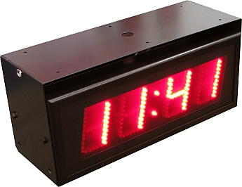 Dijital saat sicaklik gösterim panolari